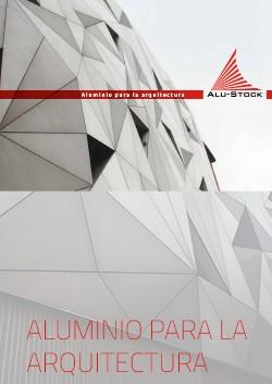 Catálogo de Alu-Stock con productos de aluminio para la arquitectura