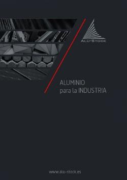 Guía de aluminio para la industria