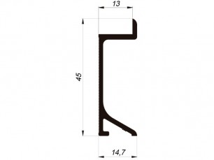 110549 - Rodapié Pladeyeso 45x13 mm