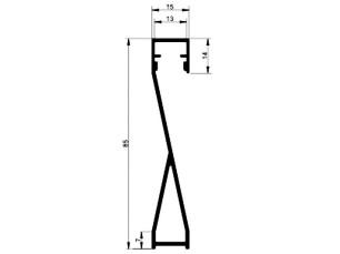 110570 - Rodapié LEDkit 85x15 Reversible