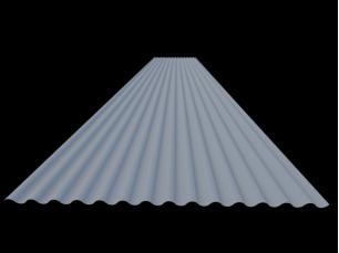 Corrugated plates