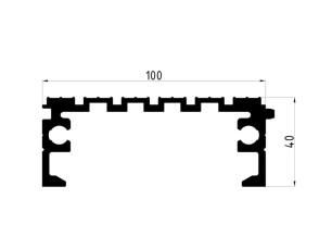 163034 Plataforma fresada 100x40