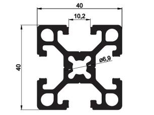140101 - Aluskit 40x40 Reinforced