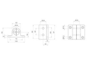 Base de anclaje lateral (7090566)