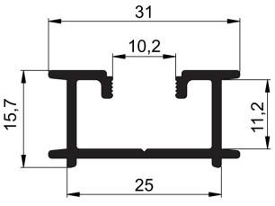 140162 - Profilé intercalaire