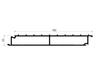 155206 - Cattle floor 190x25