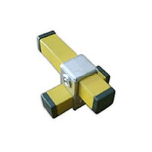 Racores para tubos cuadrados de 25 mm de lado alu stock s a for Uniones para perfiles cuadrados de aluminio