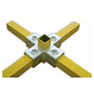 Racores para tubos cuadrados de 40 mm de lado alu stock s a for Uniones para perfiles cuadrados de aluminio