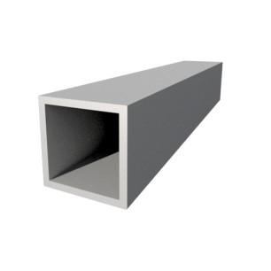 Tube carré 25x25x2
