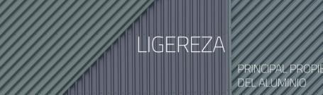 La ligereza, principal propiedad del aluminio