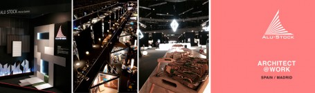 Alu-Stock en Arquitect@Work Madrid 2018, todo un éxito