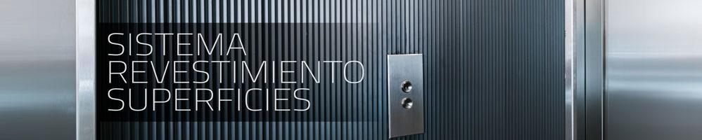 Falkit, sistema de aluminio para revestimiento de todo tipo de superficies