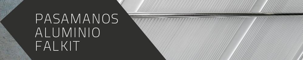 Pasamanos de aluminio Falkit®
