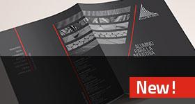 Guía aluminio para la industria