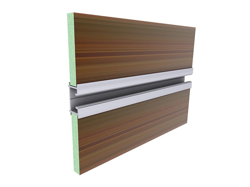 140162 Perfil Intercalador Paneles Alu Stock S A