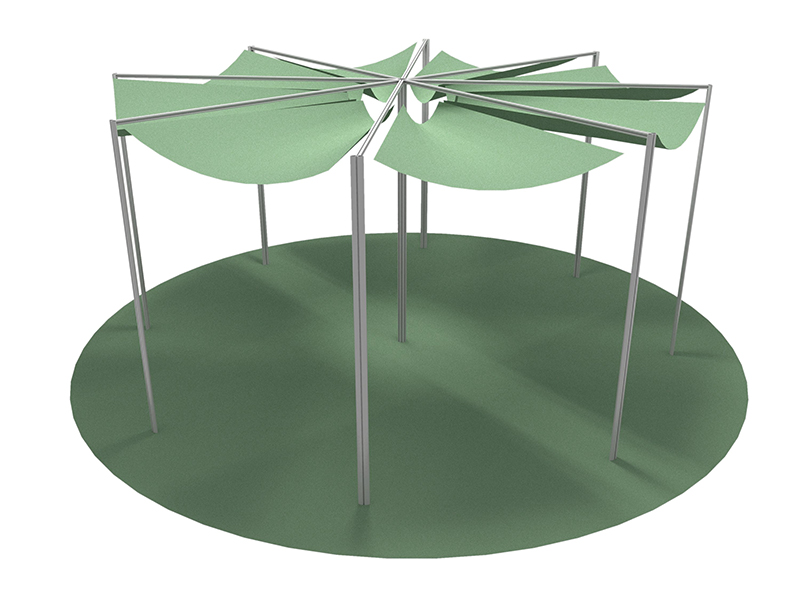 Outdoor furniture: gazebos, decks,...