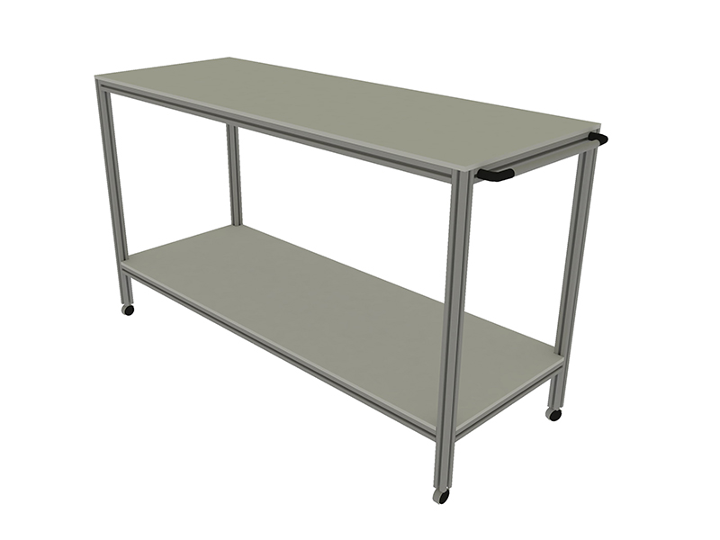 Auxiliary furniture: trolleys, storage,...