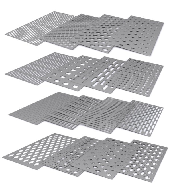 Other types of perforated plates available on request
